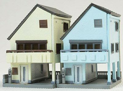 【予約】 トミーテック 建物コレクション 016-4 狭小住宅A4 鉄道模型パーツ 260677