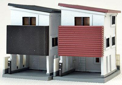 【予約】 トミーテック 建物コレクション 017-4 狭小住宅B4 鉄道模型パーツ 260684