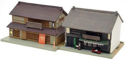 【予約】 トミーテック 建物コレクション 057-3 蕎麦屋・茶屋3 鉄道模型パーツ 265511