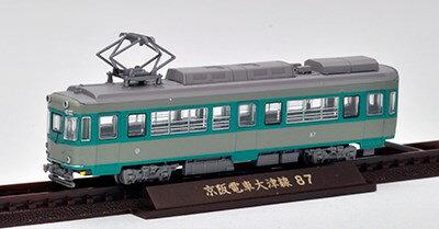 トミーテック鉄道コレクション 京阪電車大津線80型 連結車・冷房改造 鉄道模型 286097