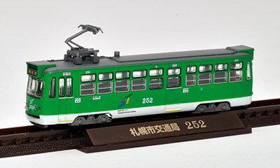 トミーテック鉄道コレクション 札幌市交通局250形 シングルアームパンタ車 鉄道模型 286172