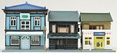【予約】 トミーテック 建物コレクション 158 商店街セットB 鉄道模型パーツ 288626