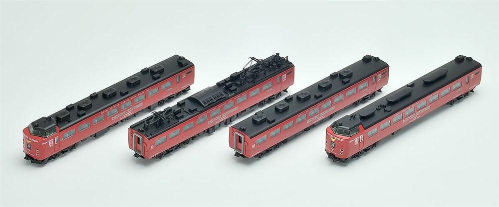 トミックスNゲージ JR 485系特急電車(MIDORI EXPRESS)セットB 鉄道模型 98251