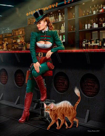 【予約】 マスターボックス 1/24 宇宙の果ての奇妙な仲間シリーズ1:女詐欺師ジャクリーン スケールプラモデル MB24033