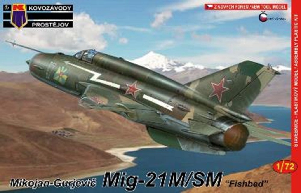 【予約】 KPモデル 1/72 MiG-21M/SM 「ロシアスペシャル」 スケールプラモデル KPM0098