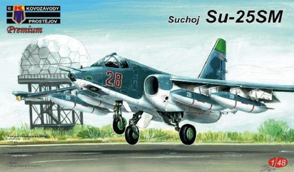 【予約】 KPモデル 1/48 スホーイ Su-25SM スケールプラモデル KPM4806