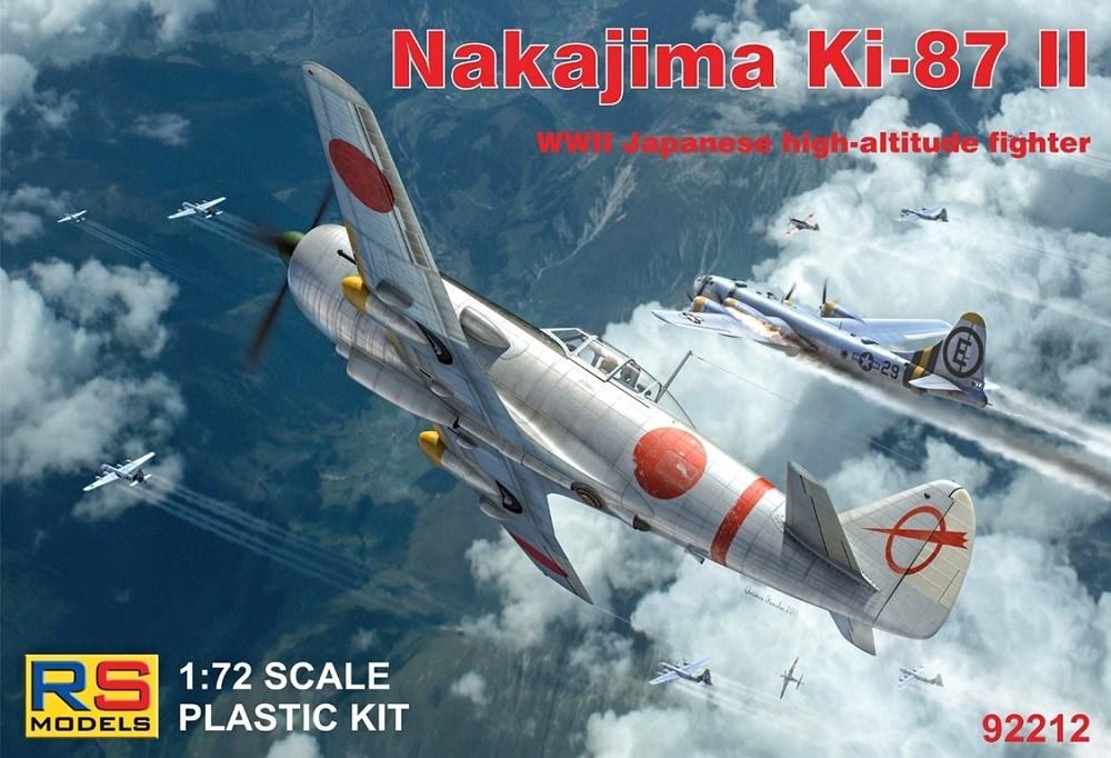 【予約】 RSモデルス 1/72 中島 キ87- 試作高高度戦闘機 スケールプラモデル 92212