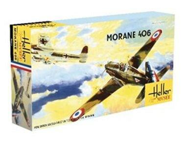 エレール1/72 モラーヌ・ソルニエ M.S.406 スケールプラモデル FF0213