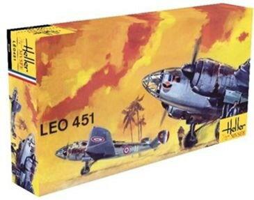 エレール1/72 LeO 451 スケールプラモデル FF0389
