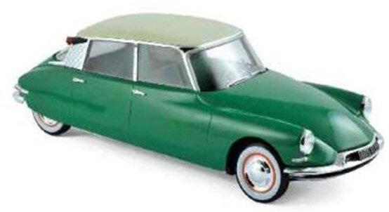 【予約】 ノレブ1/18 シトロエン DS 19 1956 ヴァートプランタン&シャンパン 完成品ミニカー 181480