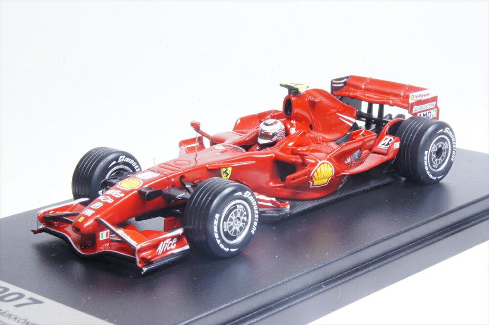ユーロスポーツ/ルックスマート1/43 フェラーリF2007 K.ライコネン 2007 F1 中国GP優勝 限定:400台 完成品ミニカー LSF-ES1707