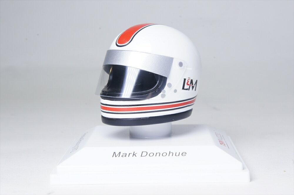 トゥルースケール1/8 ヘルメット ペンスキー レーシング 1972 F1 M.ダナフュー 完成品ミニカー TSMAC0001