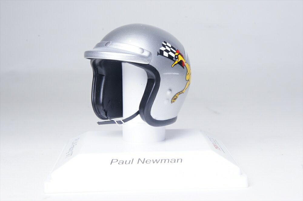 トゥルースケール1/8 ヘルメット ポール・ニューマン P.L.N.レーシング 1977 完成品ミニカー TSMAC0002