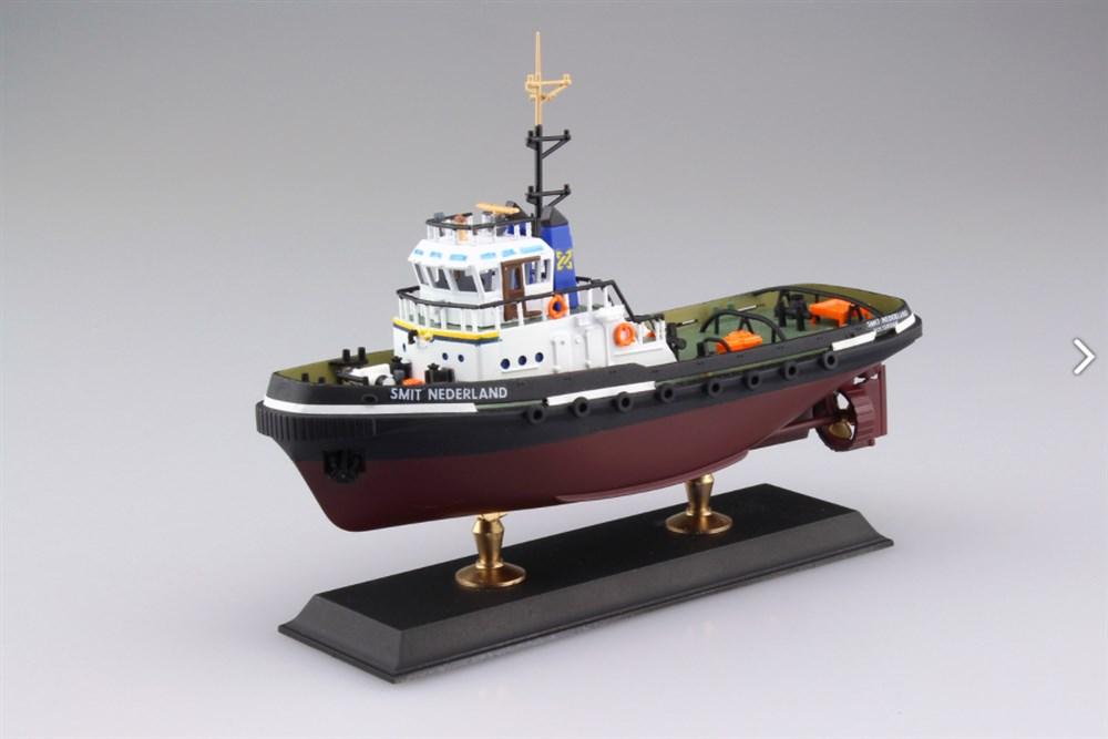 アオシマ1/200 タグボート シュミット ネーダーランド スケールプラモデル 4905083053430