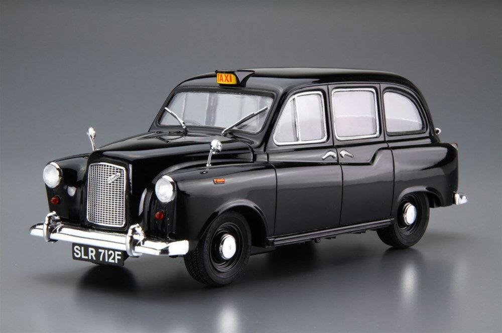 アオシマ1/24 FX-4 ロンドンタクシー '68 スケールプラモデル 4905083054871