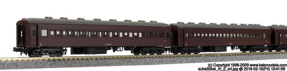 KATONゲージ スハ33 鉄道模型 5258