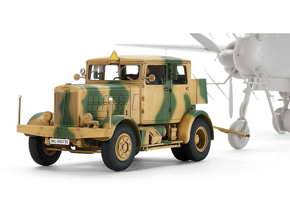 タミヤ1/48 ドイツ重牽引車 SS-100 スケールプラモデル 32593