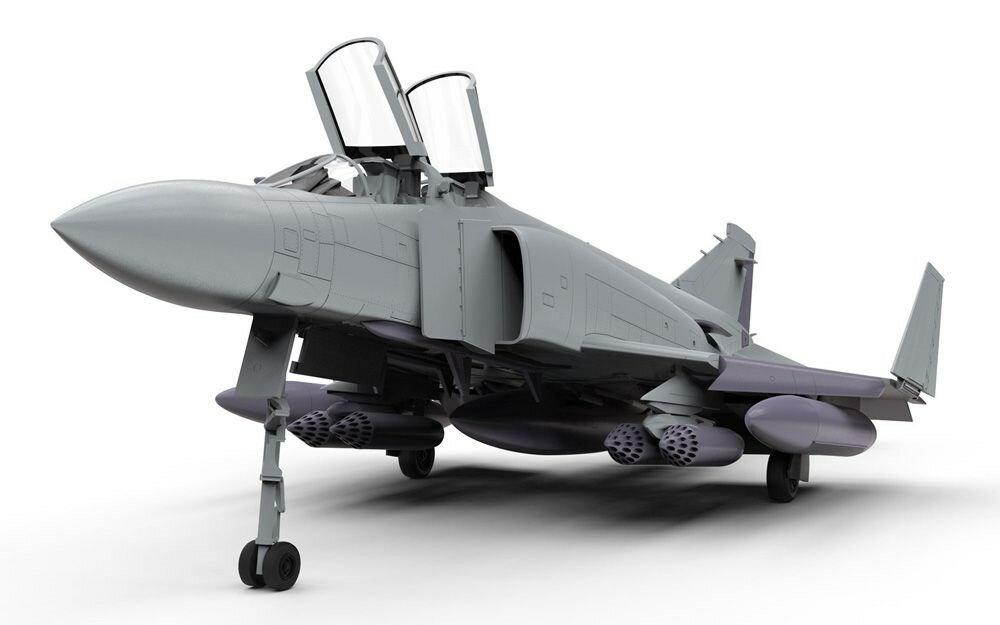 エアフィックス1/72 マクドネル・ダグラス FG.1ファントム (英海軍) スケールプラモデル X6016