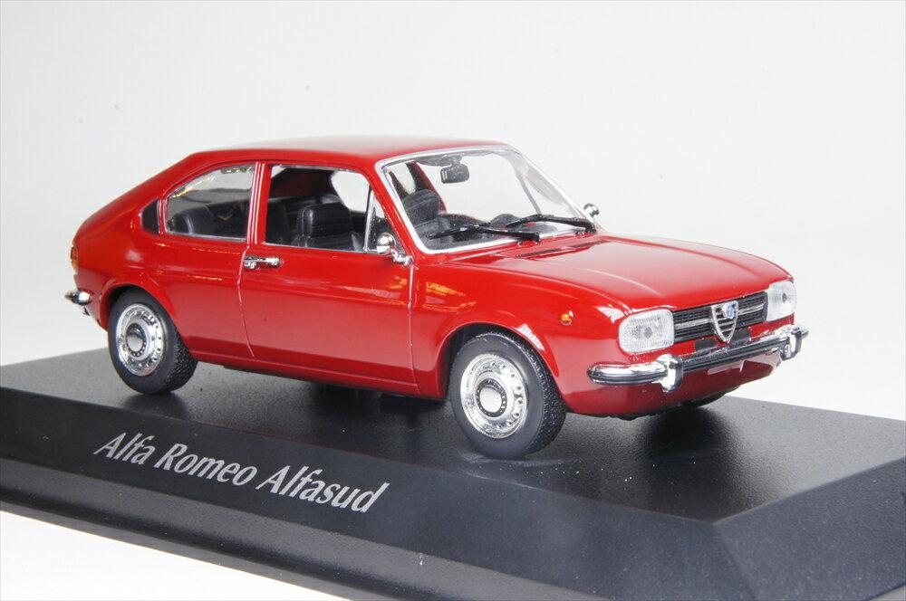 ミニカー マキシチャンプ (940120100) アルファ ロメオ アルファスッド 1972 レッド