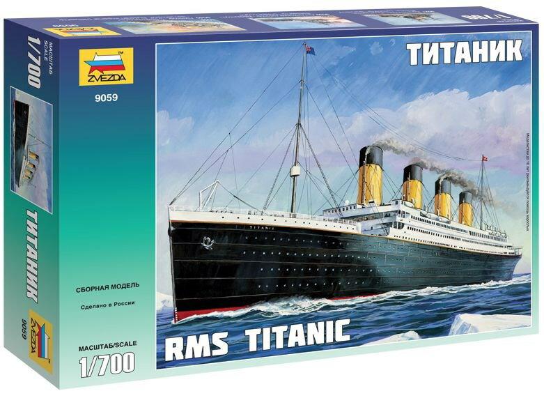 プラモデル Zvezda ズベズダ (ZV9059) 1/700 RMS タイタニック
