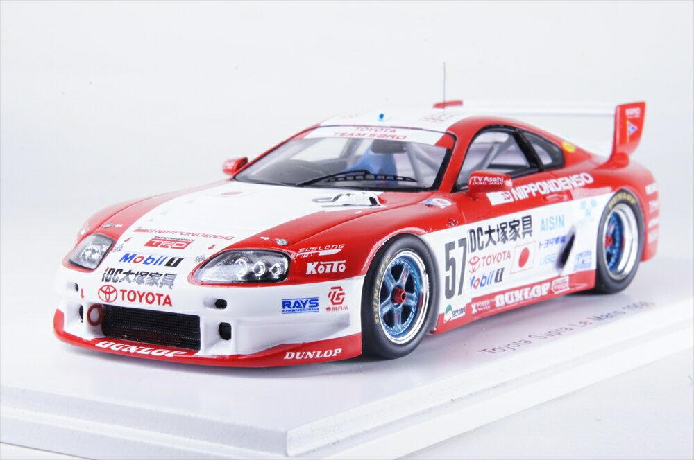 スパーク1/43 トヨタ スープラ LM No.57 1996 ル・マン24時間 完成品ミニカー S2389
