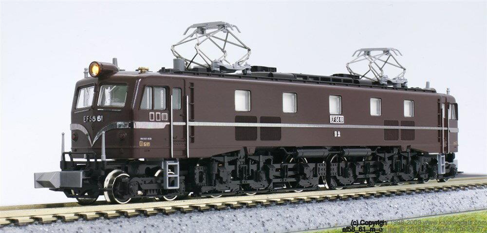 KATOEF58 61 お召列車専用機関車 鉄道模型 3038