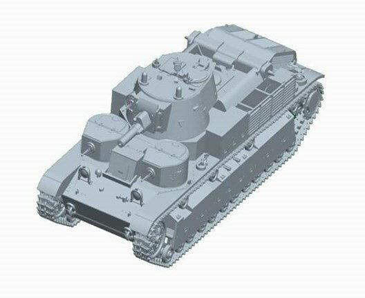 【予約】 トランペッター1/72 ソビエト軍 T-28多砲塔戦車(リベット仕様) スケールプラモデル 07151