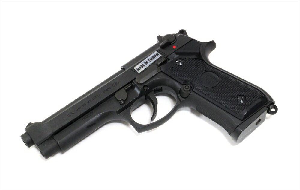KJワークス ガスガン ベレッタ M9 ミリタリー ブラック KJ06