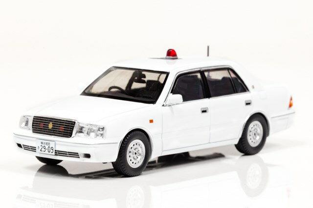 レイズ1/43 トヨタ クラウン (JZS155Z) 2000 神奈川県警察交通部交通機動隊車両 完成品ミニカー H7430003