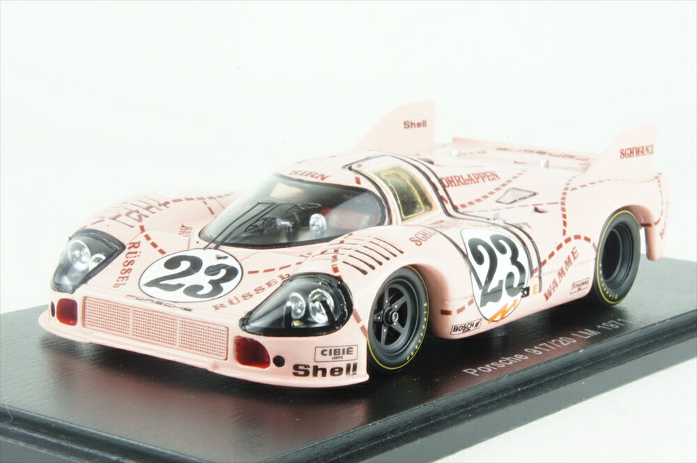 スパーク1/43 ポルシェ 917/20 No.23 1971 ル・マン24時間 R.ヨースト/W.カウセン 完成品ミニカー S1896