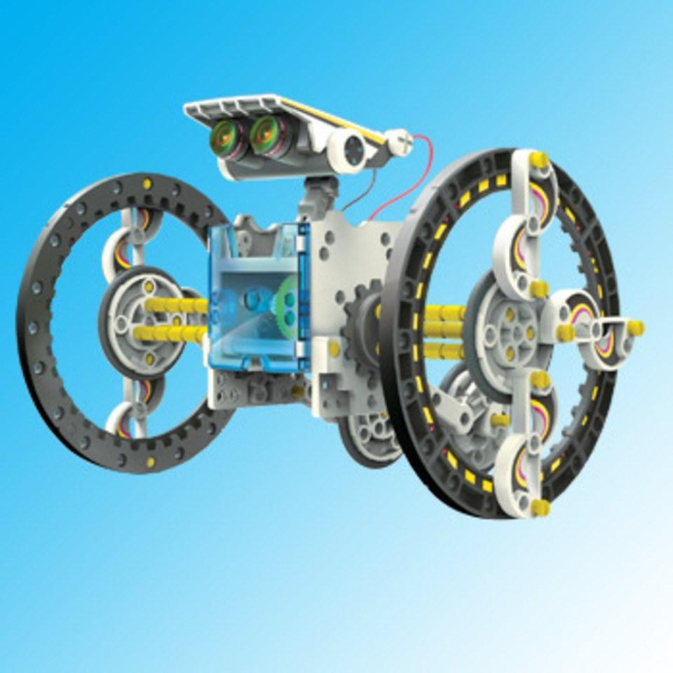 エレキット ソーラーメカボット エコエネルギー・ソーラー工作キットシリーズ スケールプラモデル JS-6161