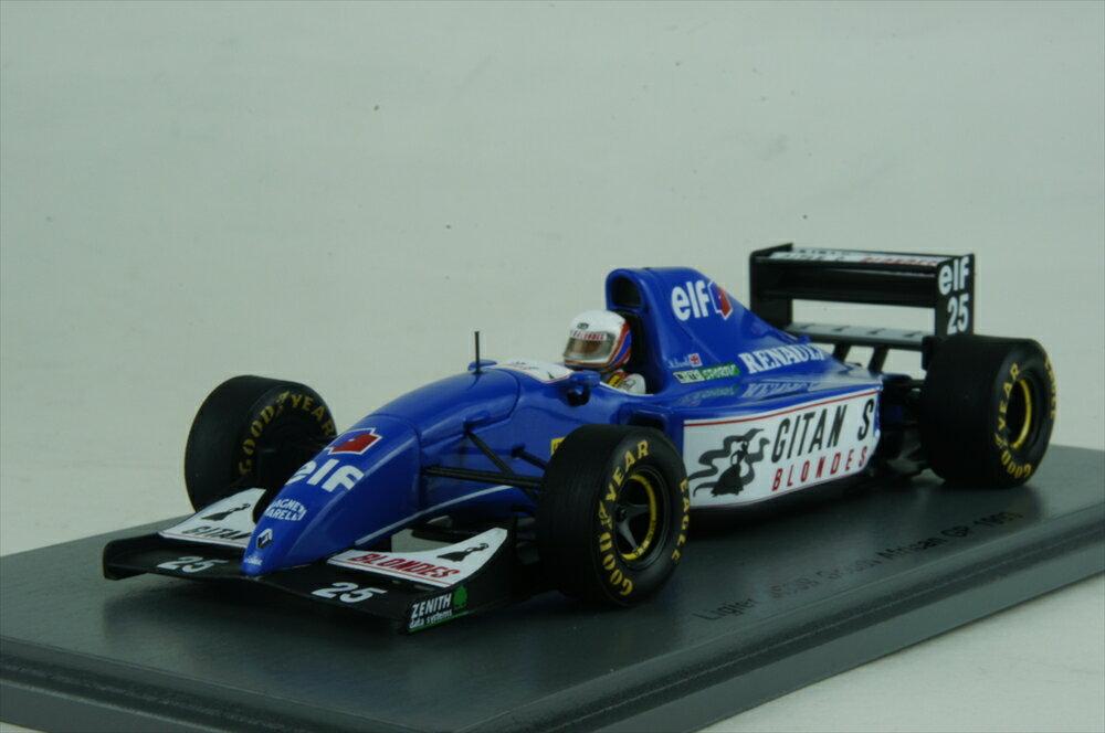 スパーク 1/43 リジェ JS39 No.25 1993 F1 南アフリカGP M.ブランドル 完成品ミニカー S3977