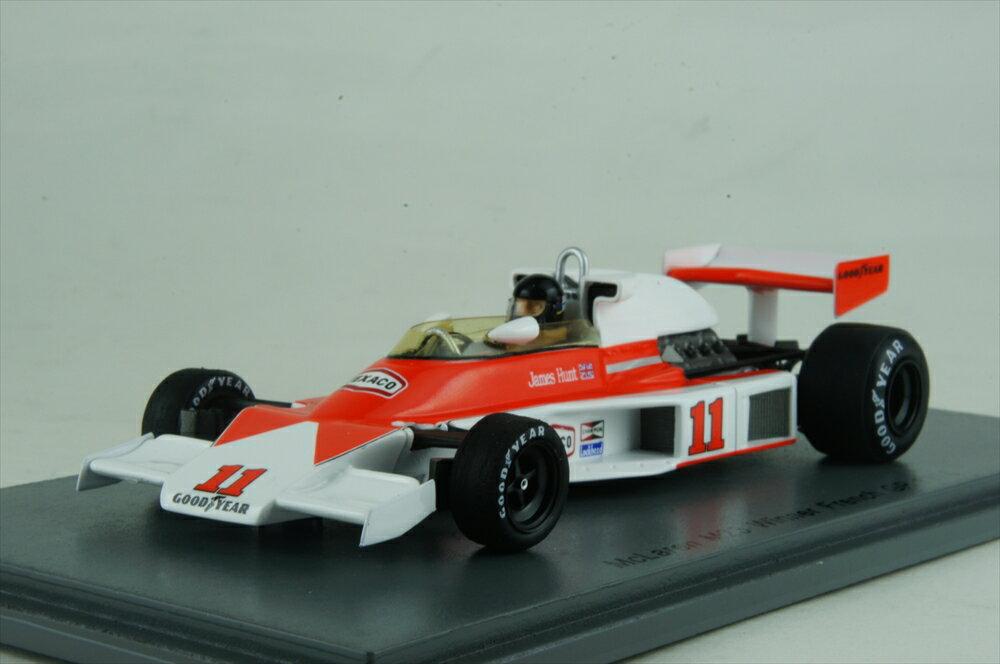 スパーク1/43 マクラーレン M23 No.11 1976 F1 フランスGP ウイナー J.ハント 完成品ミニカー S4362