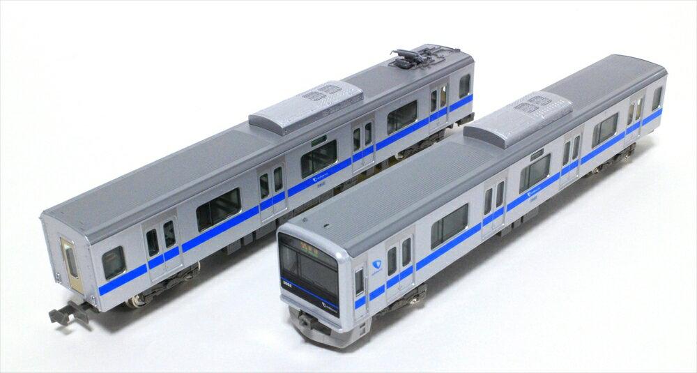 グリーンマックスNゲージ 小田急3000形(3662編成・インペリアルブルー帯)8両編成セット(動力付き) 鉄道模型 30753
