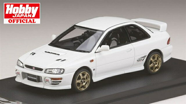 MARK43(PM4357SW) 1/43 スバル インプレッサWRX タイプR Sti Ver.1997(GC8) スポーツホイール フェザーホワイト 送料無料