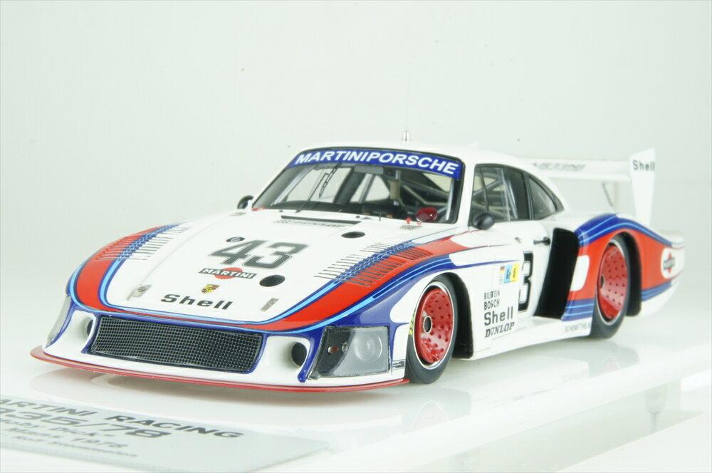 """アイドロン1/43 ポルシェ 935/78 No.43 """"マルティニ・レーシング"""" 1978 ル・マン24時間 8位 完成品ミニカー EM327"""