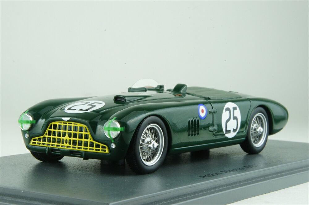 スパーク1/43 アストンマーチン DB3 スパイダー No.25 1952 ル・マン24時間 L.マックリン/P.コリンズ 完成品ミニカー S2423