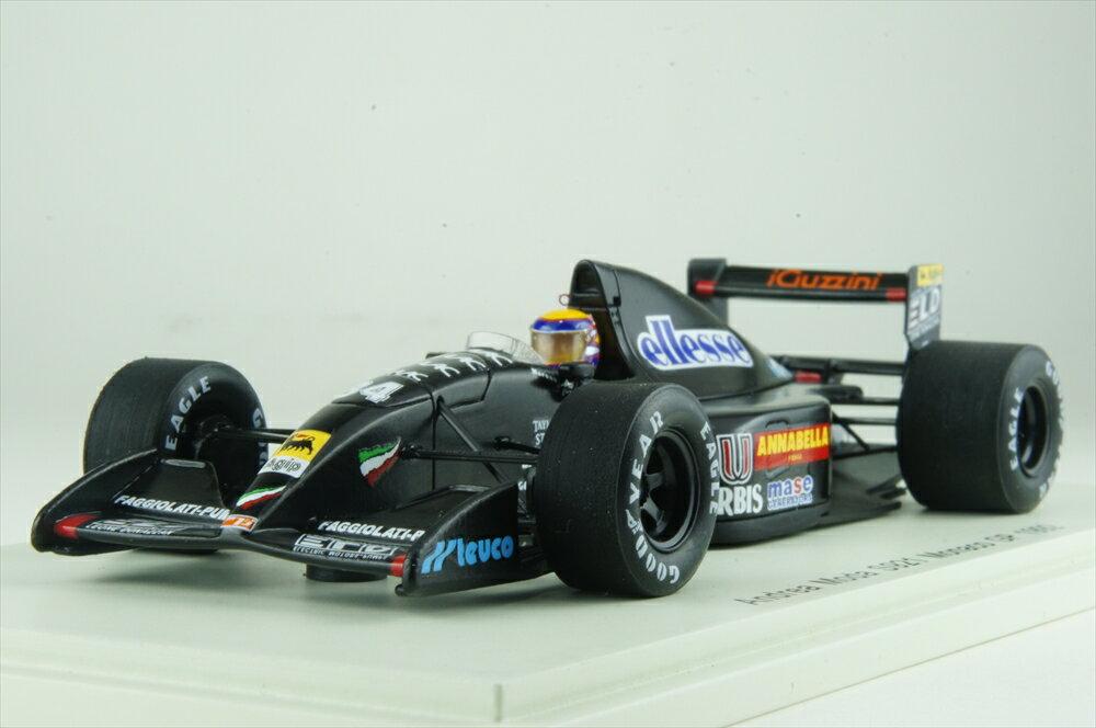 スパーク1/43 アンドレア モーダ S921 No.34 1992 F1 モナコGP R.モレノ 完成品ミニカー S3892