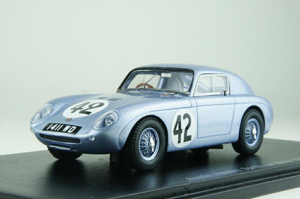 スパーク1/43 オースチン ヒーレー スプライト セブリング No.42 1961 ル・マン24時間 J.K.コルゲートjr./P.ホーキンズ 完成品ミニカー S4126
