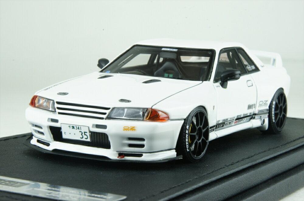 イグニッションモデル1/43 トップシークレット GT-R (VR32) ホワイト 完成品ミニカー IG1526