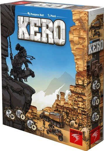 ホビージャパン KERO(ケロ) 多言語版 ボードゲーム 7612577020027