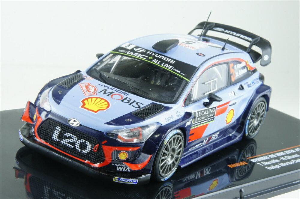 イクソモデル 1/43 ヒュンダイ i20 No.5 2018 WRC ラリー・モンテカルロ T.ヌービル/N.ジルソウル 完成品ミニカー RAM663