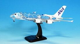 全日空商事 1/400 A380 JA381A ダイキャストモデル(WiFiレドーム・ギアつき) 完成品 艦船・飛行機 NH40099