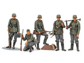 タミヤ 1/35 MM ドイツ歩兵セット (大戦中期) スケールモデル 35371
