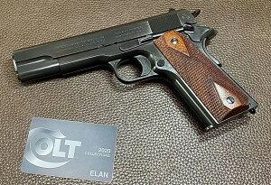 六研/エラン コルト M1911 コマーシャル ライバックモデル DUOブローバック 2020年版 モデルガン 109006096000