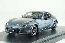 ハイストーリー 1/43 マツダ ロードスター RF RS 2020 ポリメタルグレーメタリック 完成品ミニカー HS255PG
