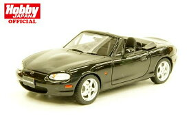 MARK43 1/43 マツダ ロードスター NB8C RS 1998 ブリリアントブラック 完成品ミニカー PM4325ABK