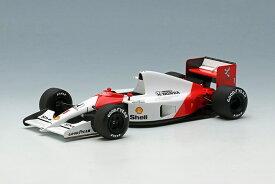アイドロン 1/43 マクラーレン ホンダ MP4/6 No.1 1991 F1 アメリカGP ウィナー 完成品ミニカー FE038A
