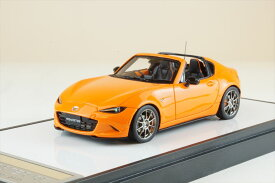 ヴィジョン 1/43 マツダ ロードスター RF 30th アニバーサリーエディション 2019 レーシングオレンジ 完成品ミニカー VM196