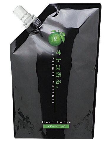 Kracie クラシエオトコ香るトニックベルガモットの香り微香性業務用家庭様向け500ml補充サイズ